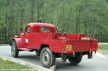 <h2>Camionnette d'incendie - Beaufort - Savoie (73)</h2>