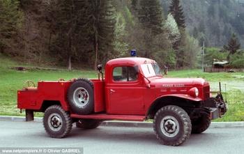 Camionnette d'incendie, Sapeurs-pompiers, Savoie (73)