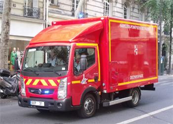 Véhicule d'assistance technique, Sapeurs-pompiers de Paris, Paris (75)