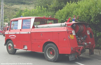 Fourgon-pompe tonne, Sapeurs-pompiers, Drôme (26)