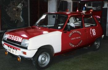 Véhicule  radio médicalisé, Sapeurs-pompiers, Charente-Maritime (17)