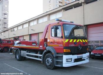 Véhicule porte-engin, Sapeurs-pompiers, Moselle (57)