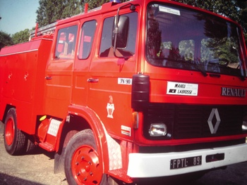 Fourgon-pompe tonne léger, Sapeurs-pompiers de Paris,  ()