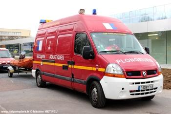 Véhicule de secours nautique, Sapeurs-pompiers, Calvados (14)