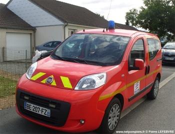 Véhicule de liaison, Sapeurs-pompiers, Cher (18)