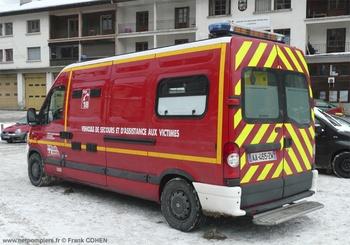 <h2>Véhicule de secours et d'assistance aux victimes - Chamonix - Haute-Savoie (74)</h2>