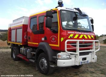 Camion-citerne rural, Sapeurs-pompiers, Bouches-du-Rhône