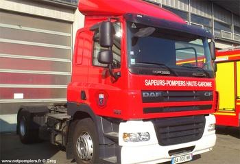 Véhicule tracteur, Sapeurs-pompiers, Haute-Garonne