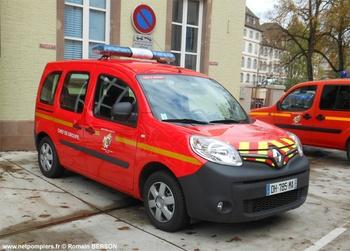 Véhicule de liaison, Sapeurs-pompiers, Bas-Rhin (67)