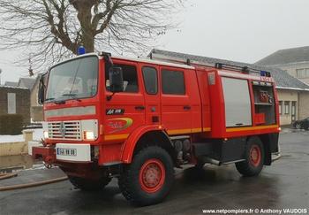 #10248 - Fourgon-pompe tonne Sides, châssis Renault Midliner M210, sapeurs-pompiers, Ardennes (08)