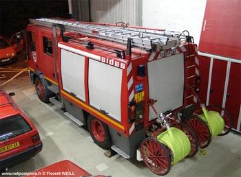 Fourgon-pompe tonne, Sapeurs-pompiers, Isère (38)
