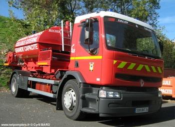 Camion-porte cellule, Sapeurs-pompiers, Hérault (34)