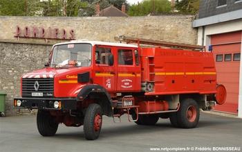 Fourgon-pompe tonne, Sapeurs-pompiers, Indre