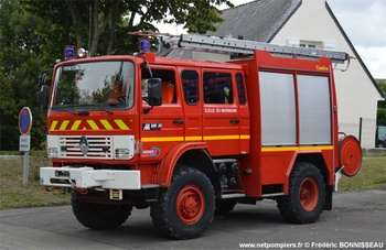 Fourgon-pompe tonne léger, Sapeurs-pompiers, Morbihan