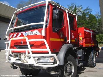<h2>Camion-citerne pour feux de forêts - Aniane - Hérault (34)</h2>