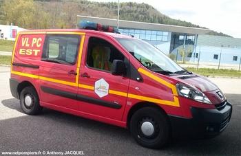Véhicule poste de commandement léger, Sapeurs-pompiers, Jura (39)