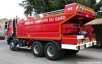 Camion-citerne pour feux de forêts, Sapeurs-pompiers, Gard (30)