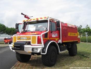 <h2>Camion-citerne pour feux de forêts - Hourtin - Gironde (33)</h2>