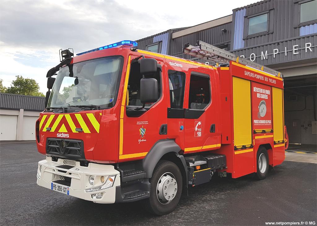 <h2>Fourgon-pompe tonne - Gargenville - Yvelines (78)</h2>