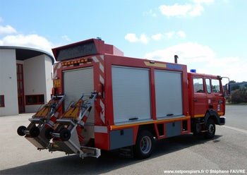 Véhicule de secours routier, Sapeurs-pompiers, Ariège