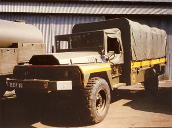 Dévidoir automobile, Formations militaires de la Sécurité civile, Eure-et-Loir (28)
