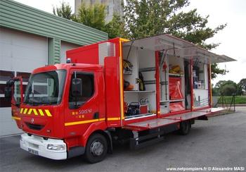 Véhicules pour interventions à risques technologiques, Sapeurs-pompiers, Haute-Vienne