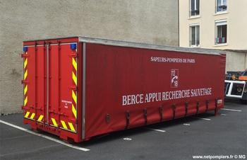 Berce appui recherche sauvetage, Sapeurs-pompiers de Paris,  ()