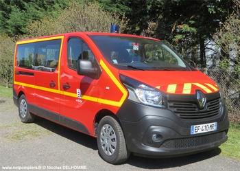 Véhicule de transport de personnel, Sapeurs-pompiers, Ardèche (07)