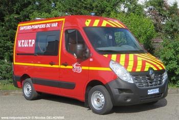 Véhicule de transport de personnel/Tous usages, Sapeurs-pompiers, Var