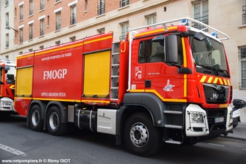 Fourgon-mousse de grande puissance, Sapeurs-pompiers de Paris,