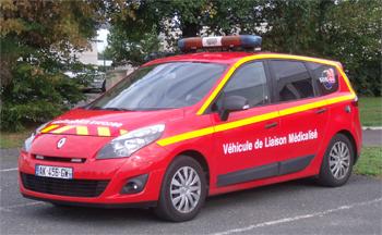 <h2>Véhicule radio médicalisé - Pornic - Loire-Atlantique (44)</h2>