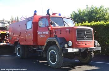 <h2>Fourgon-pompe tonne - Saint-Gervais - Drôme (26)</h2>