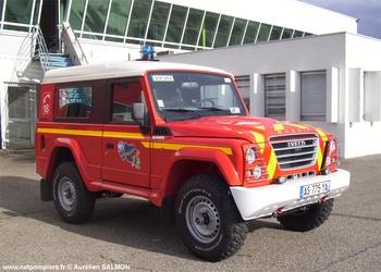Véhicule de liaison, Sapeurs-pompiers, Allier