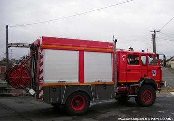Fourgon-pompe tonne, Sapeurs-pompiers, Aisne (02)