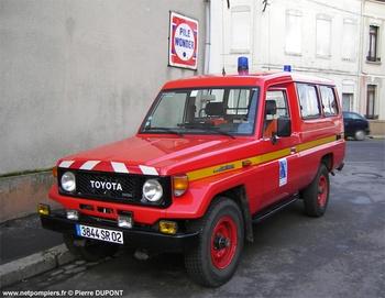 Véhicule de liaison, Sapeurs-pompiers, Aisne (02)