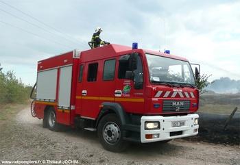 <h2>Fourgon-pompe tonne - Charmes - Vosges (88)</h2>