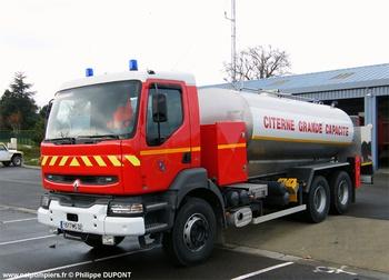 Camion-citerne de grande capacité, Sapeurs-pompiers, Gers (32)