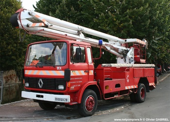 Camion bras élévateur articulé, Sapeurs-pompiers, Eure-et-Loir