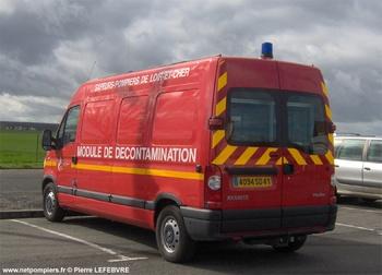 Véhicule de lutte contre la pollution, Sapeurs-pompiers, Loir-et-Cher (41)
