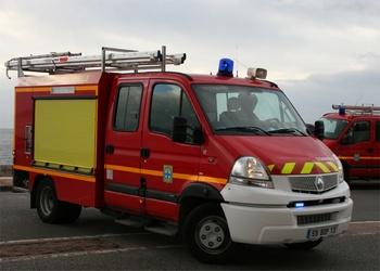 Véhicule de première intervention, Marins-pompiers de Marseille, Bouches-du-Rhône (13)