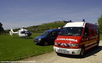 Véhicule de secours et d'assistance aux victimes, Sapeurs-pompiers, Meuse (55)