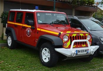 Véhicule de liaison, Sapeurs-pompiers, Haute-Garonne (31)