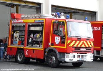 Véhicule de secours routier, Sapeurs-pompiers, Charente-Maritime