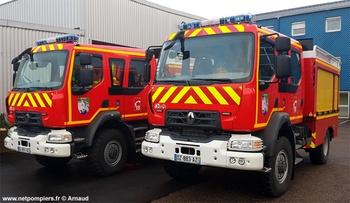 Camion-citerne rural, Sapeurs-pompiers, Meuse (55)