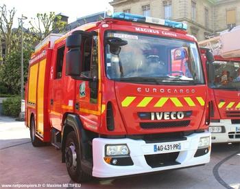 Fourgon-pompe tonne, Sapeurs-pompiers, Seine-Maritime (76)