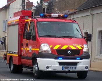 Véhicule de première intervention, Sapeurs-pompiers, Cher (18)