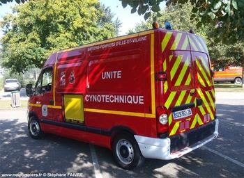 <h2>Véhicule pour interventions cynotechniques - Rennes - Ille-et-Vilaine (35)</h2>