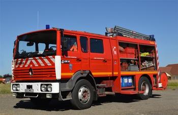 Fourgon-pompe tonne, Sapeurs-pompiers, Creuse