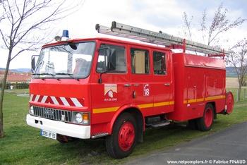 Fourgon-pompe tonne, Sapeurs-pompiers, Puy-de-Dôme