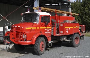 Camion-citerne pour feux de forêts, Sapeurs-pompiers, Indre (36)